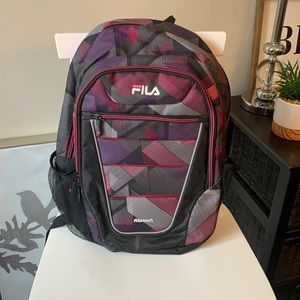 New Fila Filatech Argus Laptop Backpack
